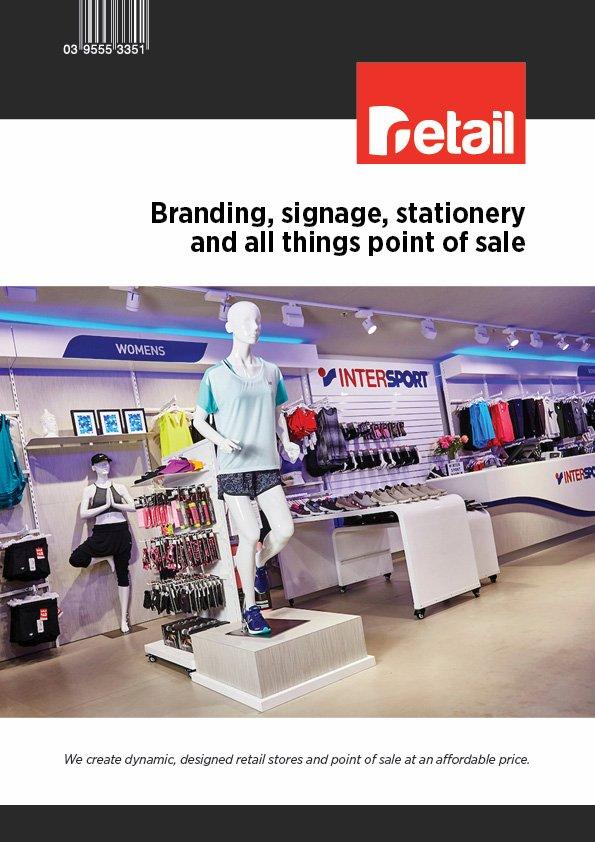 branding brochure cover