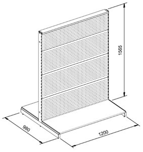 l and t aisle shelving