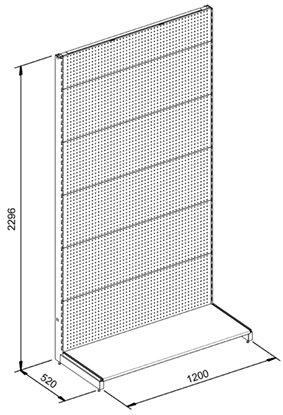 land t wall shelving