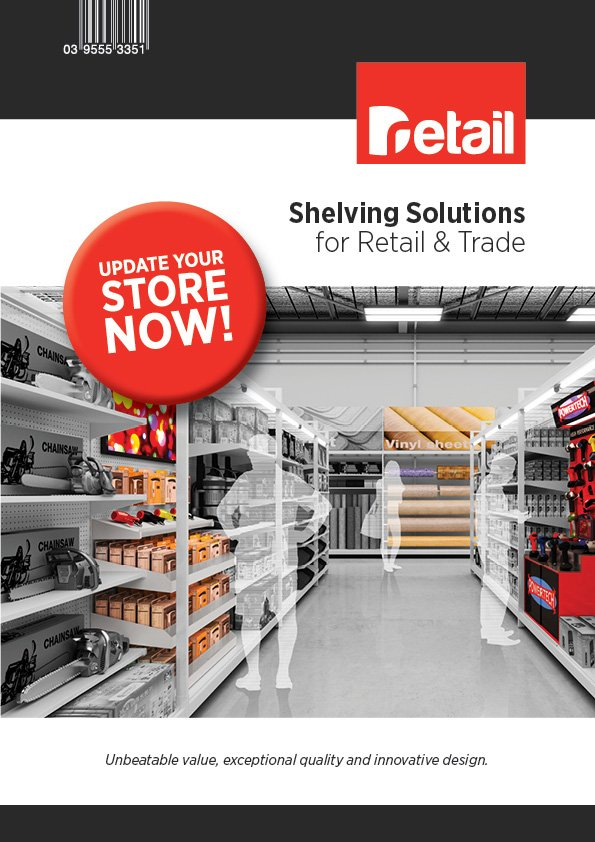 shelving solutions brochure cover