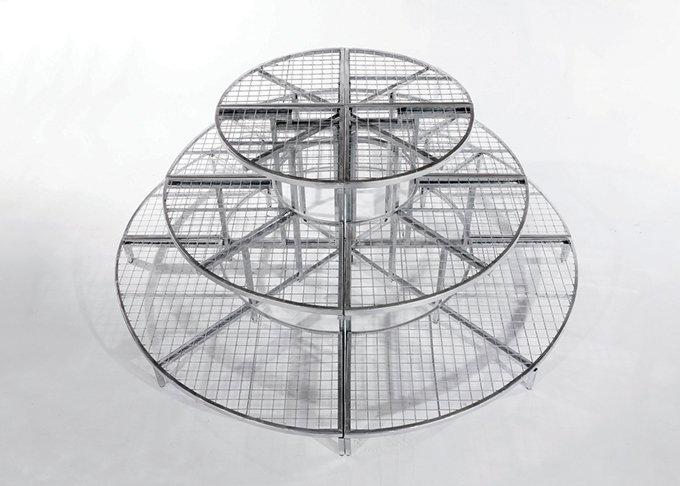 Full circle modular garden stand large