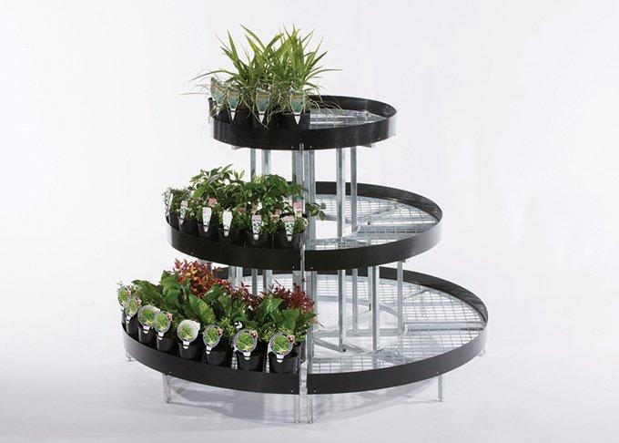 Full circle modular garden stand medium size