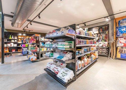 L & T retail shelving