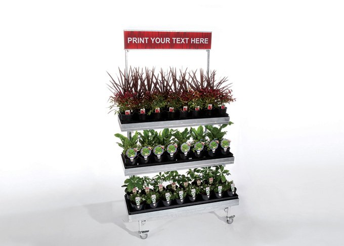 Mobile plant stand by Detail Retail