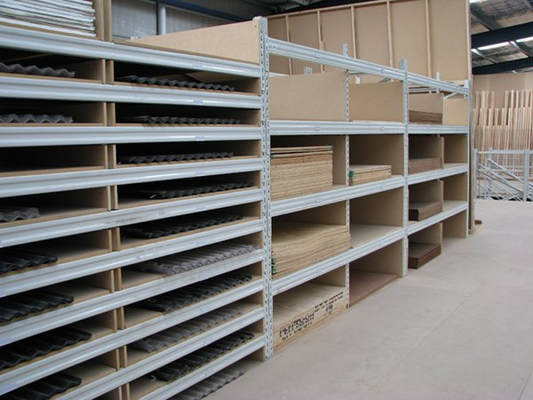 Hardware store for sheeting products and timber