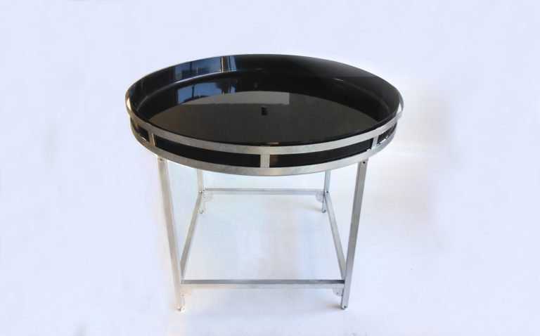 round table insert tray for garden display stand